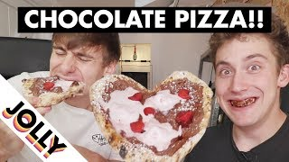 Best Food Craze: CHOCOLATE PIZZA!!!