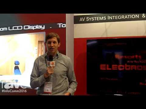 InfoComm 2016: Electrosonic Explains AV Systems Integration and Service Solutions