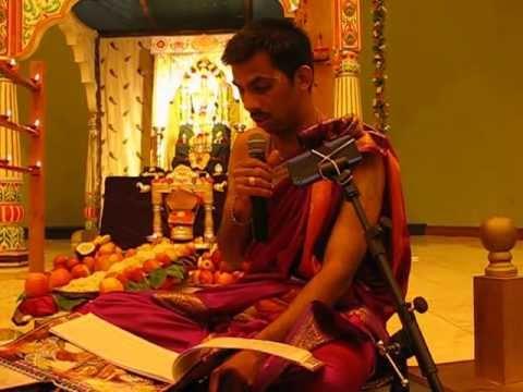 Vijaya naama Samvatsara Panchanga Shravana - at Sri Krishna...