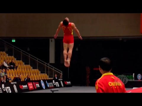 ЧМ по прыжкам на акробатической дорожке - 2015 (команды/мужчины)