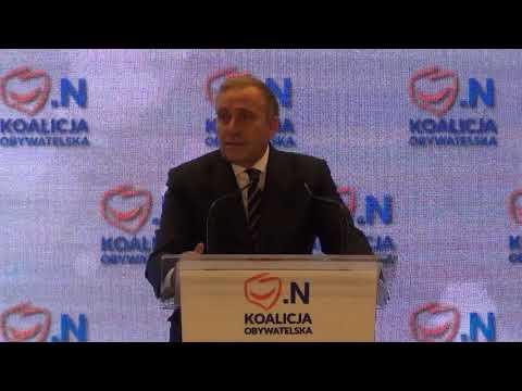 Wybory2018: Konwencja Koalicji Obywatelskiej W Bydgoszczy