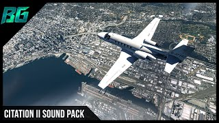 Citation II Sound Pack (FTSim+) (Pilotedge) | XP11