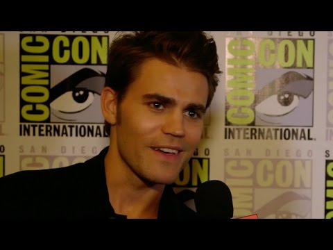 Paul Wesley Teases The Vampire Diaries Season 7 - Comic Con 2015