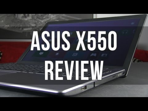Asus X550 / X550VC review: entry level 15.6 inch laptop