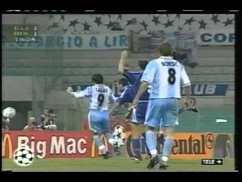 1999 September 22 Lazio Italy 2 Dinamo Kiev Ukraine 1 Champions League