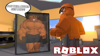I'LL NEVER BE BUFF IN ROBLOX 😢(Roblox Weight Lifting Simulator 3)