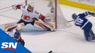 David Rittich Gets Across To Deny Andreas Johnsson With Huge Glove Save