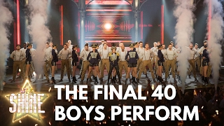 Dannii Minogue puts the Let It Shine final 40 boys through their musical paces - Let It Shine - BBC
