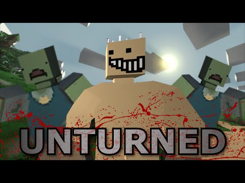 BLOCKY ZOMBIE SURVIVAL - Unturned [Part 1]!