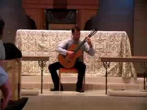 Michael Nicolella plays Rodrigo's Invocation and Dance