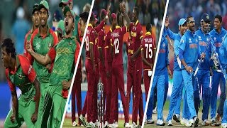 Bangladesh India West Indies will play tri nation series In America