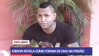 Jobson sai da prisão e fala com exclusividade com equipe do SBT de Conceição do Araguaia