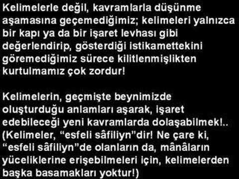 """Ahmed Hulûsi """"KURÂN SIRLARININ DERİNLİĞİNE"""" 1.Bölüm"""