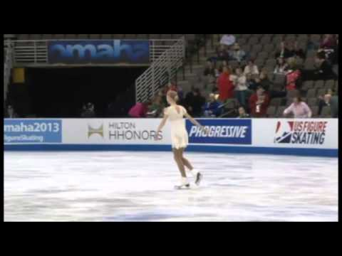 Polina Edmunds Free Skate US Nationals 2013