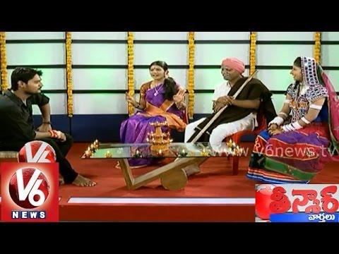 Diwali special Chit Chat with V6 Teenmaar News team - Mallanna...