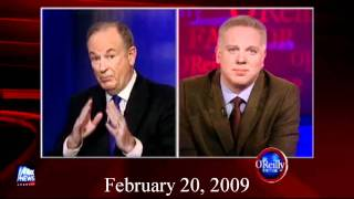 Glenn Beck was for the bailouts before he was against them!