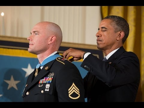 President Obama Awards the Medal of Honor