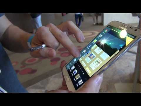 *Galaxy Note II* Pocket Test and Multitasking Overview (Big Android BBQ - 2012)