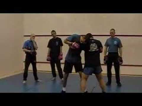 Fighting from the clinch - MMA Instructional Image 1