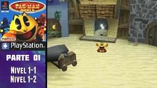Pac-Man World (PS1) (Español) (100%) - Parte 01: A rescatar a nuestros amigos
