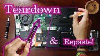 ASUS FX503VD Teardown and Repaste!