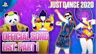 Just Dance 2020 - E3 2019 Official Song List: Part 1 | PS4
