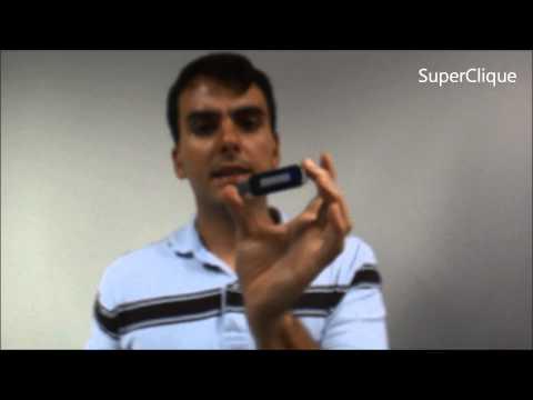 Gravador de voz espião - Mini gravador digital e Pen Drive 8gb