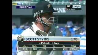 **NZ GOLD** Scott Styris 170 vs South Africa 2nd Test 2004