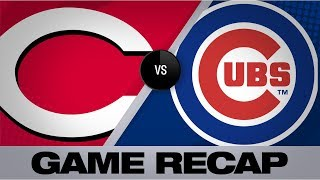 Castillo's 10 K's lead Reds past Cubs, 6-3 | Reds-Cubs Game Highlights 7/15/19