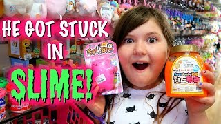 Slime & Squishies at Little Tokyo! & SLIME DARE!