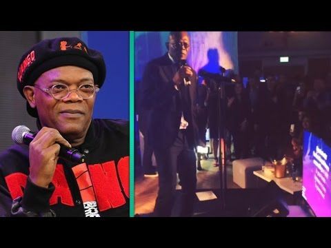 You've Gotta Watch Samuel L. Jackson Singing Karaoke