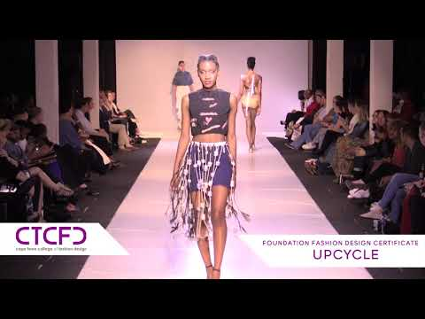 Upcycle | 1 Year Foundation Fashion Design - CTCFD Fashion Show 2017