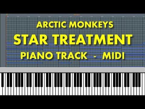 ARCTIC MONKEYS - Star Treatment (Piano Track) MIDI MP3