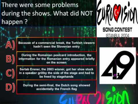 Eurovision Trivia Quiz *Question 49: 2004* klip izle