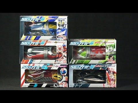 仮面ライダー ドライブ Sgシフトカー6 2 全5種 Kamen Rider Drive Sg Shift Car 6 2 video