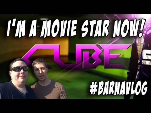 Shooting CUBE movie in Seattle, WA & I'm in the script : BarnaVlog 33