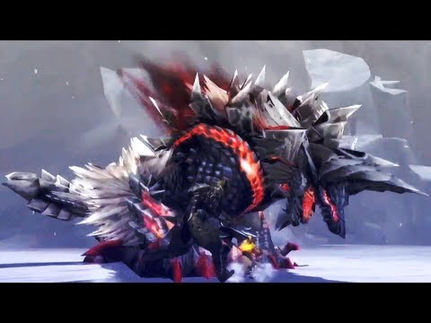 Monster Hunter 3 Ultimate WiiU HD Gameplay [german commentary]