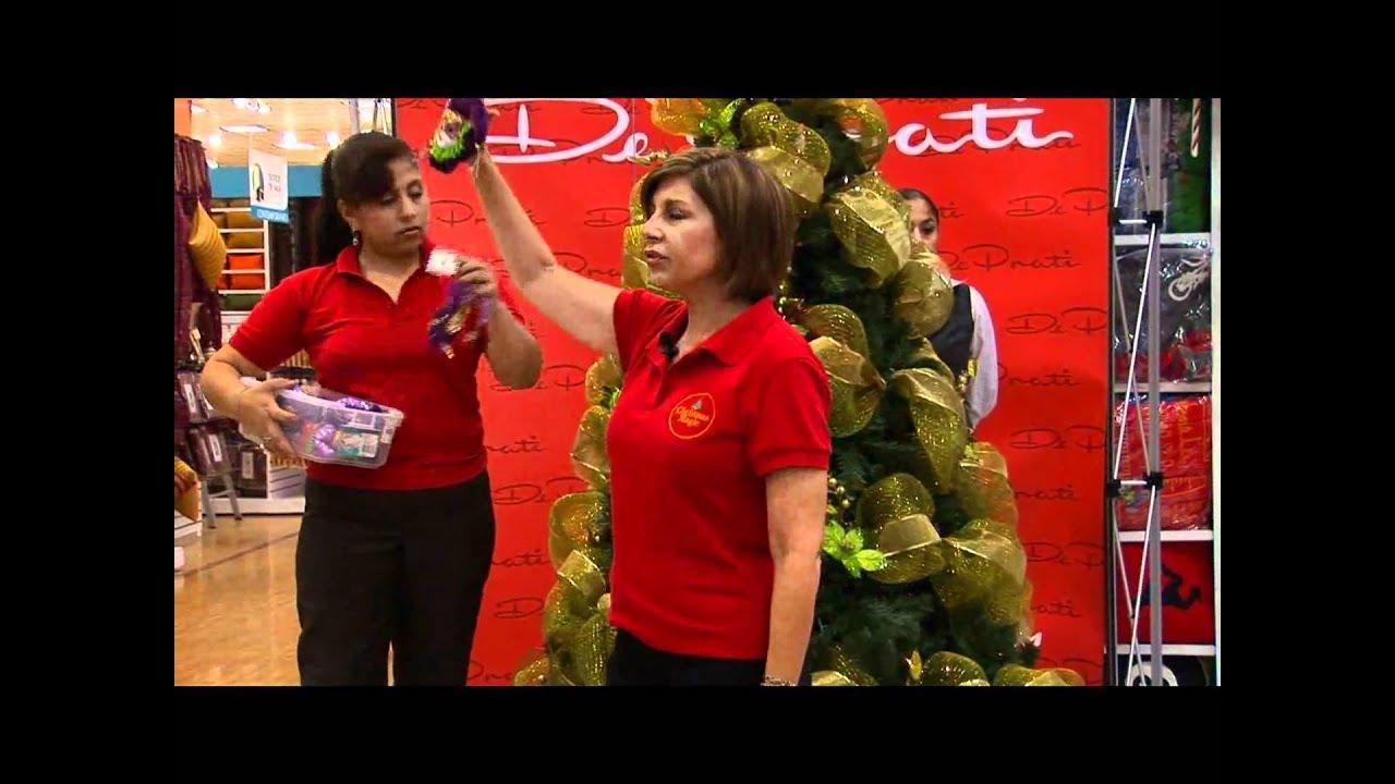 Decoraci n de rboles de navidad 2010 parte 2 youtube - Arboles de navidad de diseno ...