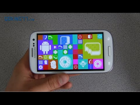 Android 4.4 Kitkat On The Samsung Galaxy S3 video