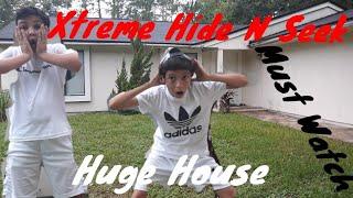 Xtreme Hide N Seek(HUGE HOUSE)(MUST WATCH)  | The R Brothers