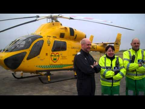 Farmers Guardian: Lincolnshire and Nottinghamshire air ambulance to the rescue