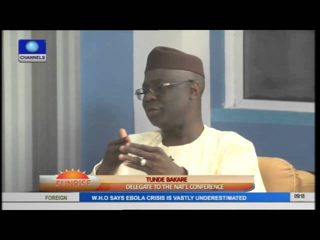 Sunrise: National Conference Challenges And Solutions Pt 1