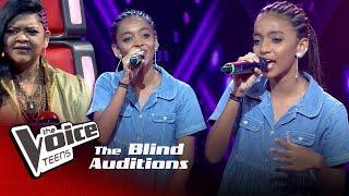 Sasheena Imodya | Despacito | Blind Auditions | The Voice Teens Sri Lanka