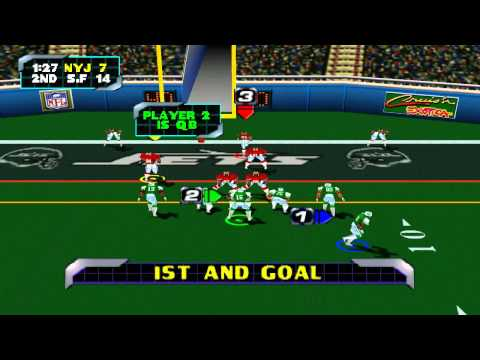 NFL Blitz 2000 - Part 7 (Gameplay and Commentary)