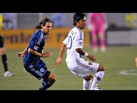 HIGHLIGHTS: LA Galaxy vs. Sporting KC | April 20, 2013