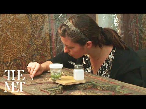 Conserving the Damascus Room at The Metropolitan Museum of Art