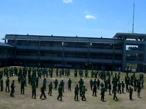 Father Saturnino Urios University ! GREEN EMERALDS (MASS DEMO) 2011