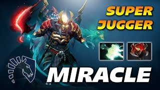 Miracle Super Fast Juggernaut - Dota 2 Pro Gameplay