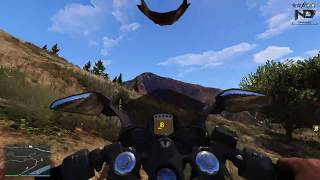 GTA 5 - Đi chôm xe moto phân khối lớn về cho ông chủ bán | ND Gaming