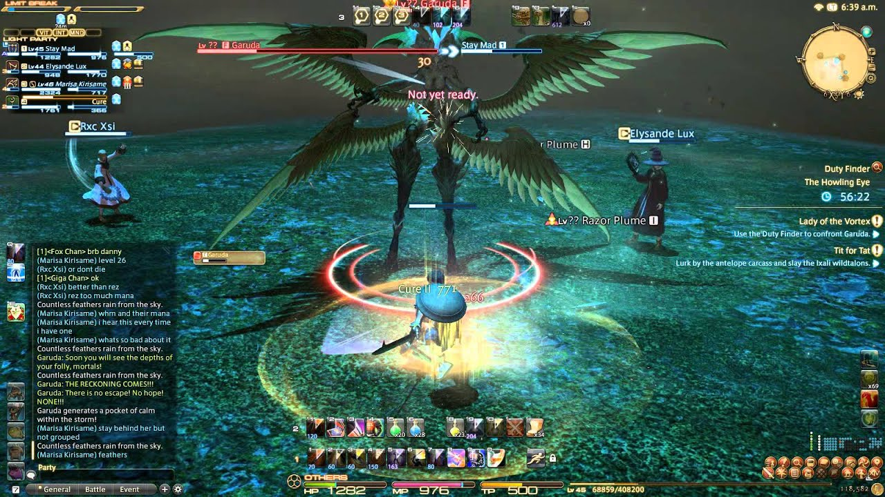 how to play ffxiv in windowed mode